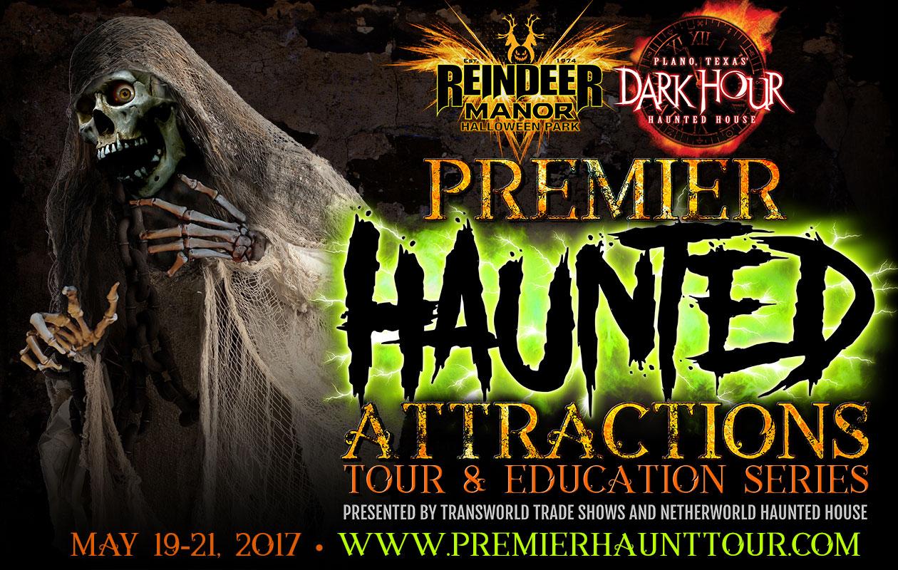 Premier Haunted Attraction Tour & Education Series
